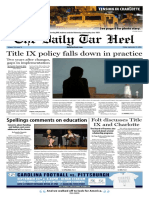 The Daily Tar Heel for Sept. 23