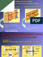 Formwork BFormwork for wall