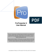 Pro 6 User Guide