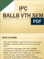 Ipc Ballb 5th Sem