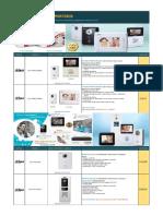 PORTEROS - VIDEOPORTEROS - MARCA DAHUA.pdf