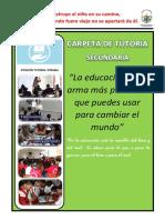 Carpeta de Tutoria - 2015