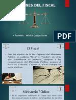 Funciones Del Fiscal