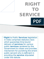 Right to Services