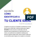 Identifica a Tu Cliente Ideal