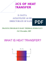 Basics of Heat Transfer