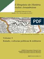 Anais II SEHA - 2015 - Volume 4 - Estado, Culturas Politicas e Militares