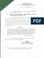Punjab Local Government Third Amendments Ordinance 2013