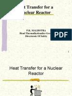 Heat Transfer in Nuclear Reactor