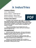 ARk IndusTries(Buisplan)