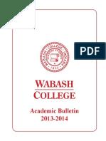 Academic Bulletin 13