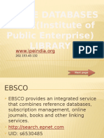 Online Databases at IPE Library (2)