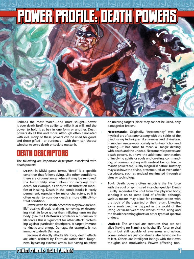 Mutants And Masterminds Ultimate Power Pdf