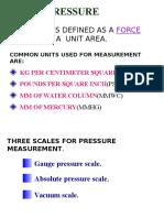 Pressure Fundamental