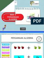 Topik 3 Persamaan Algebra