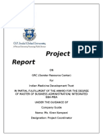 Project Report IMDT