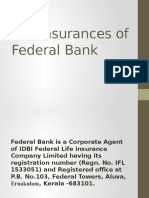 Life Insurances of Federal Bank.pptx