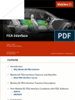 Moldex3D R14 FEA Interface Introduction
