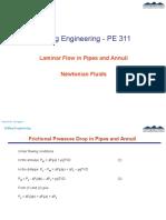 2 LaminarFlowPipes&Annuli Newtonian