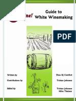 White Wine Making