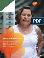 GSK Annual Summary 2013