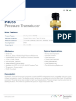 P4055 Kavlico Pressure Data Sheets (EU)