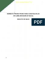 NP 005 - 2003 Proiectarea Constructiilor Din Lemn