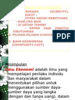 Materi Ilmu Ekonomi 1pengertian Ilmu Ekonomi