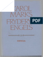 Kapitał, Karol Marks, Tom lll (cz.1 )