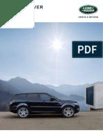 Range Rover Sport RR SPORT L494 010116