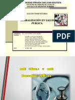 Diapositivas Globalización en Salud Publica