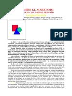 DERRIDA, Jacques, BENSAID. Daniel, Dialogo Sobre El Marxismo