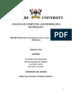 Makererere Bid Browser Project by katumba Noah Baligidde