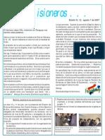 boletin 12 reflexión Jesús Villa - Noticias Bolivia ago 2007 IPUC