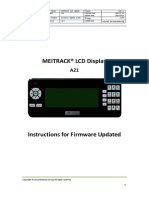 MEITRACK A21 LCD Display Instructions for Firmware Update V1.1