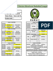 c division schedule scores rosters rv 9 23 16