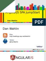 Angularjs Spa Jumpstart