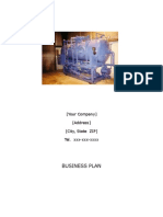 Business Plan Welding