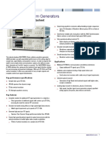 Tektronix AWG70001A Data Sheet