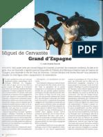 Cervantes, grande de España