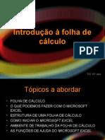 Introdução à Folha de Cálculo