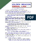 Golden  Beacon   on   Criminal   Law  -  2015.doc