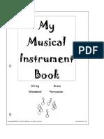 My Musical Instrument Book b
