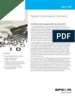 Epicor ERP Commerce Connect FS ENS