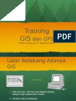 Training GIS dan GPS di SMKN 5 Bandung