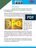 HPL-IPO
