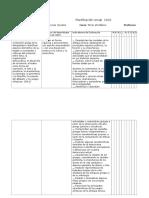 Planificación Anual Historia 1º a 4º 2016