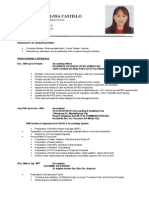 Resume - Michelle Castillo