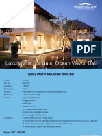 Villa 0510, Luxury Villa With Ocean Views Bali