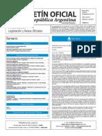 Boletín Oficial de la República Argentina, Número 33.467. 22 de septiembre de 2016